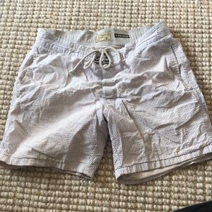J crew the original short board board shorts